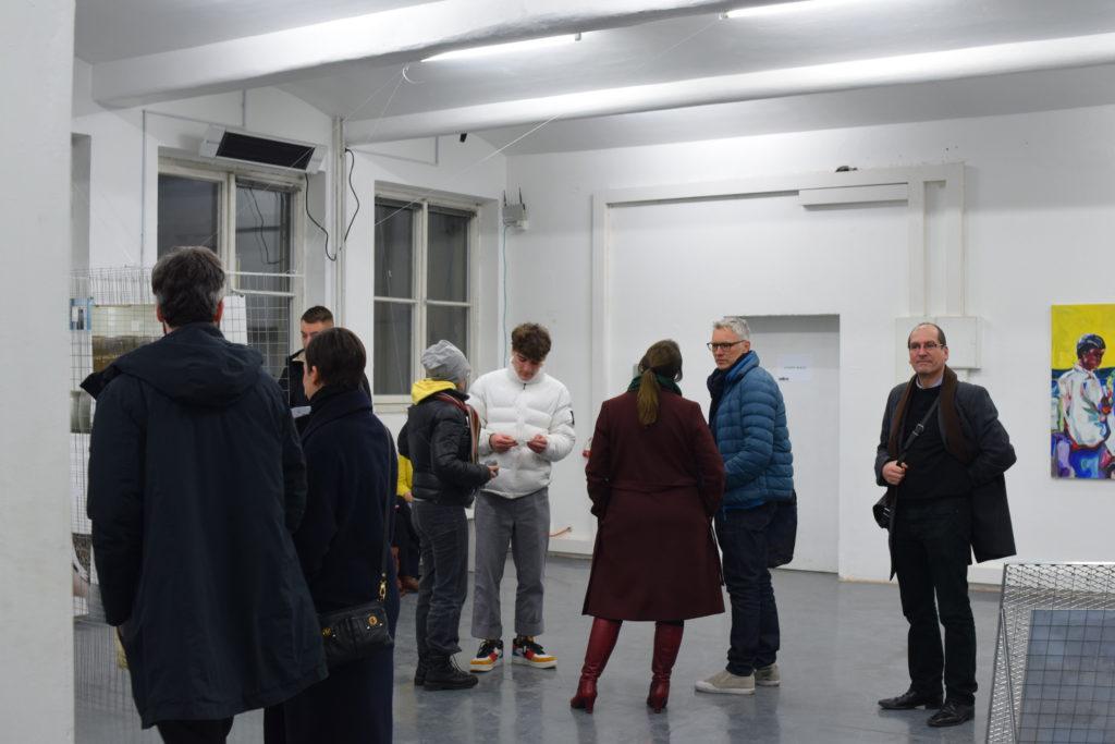 Werkschau der Künstler der Alten Münze Berlin im 2OG