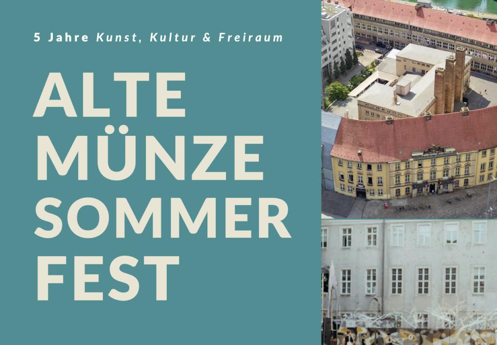 Alte Münze Sommerfest 2020