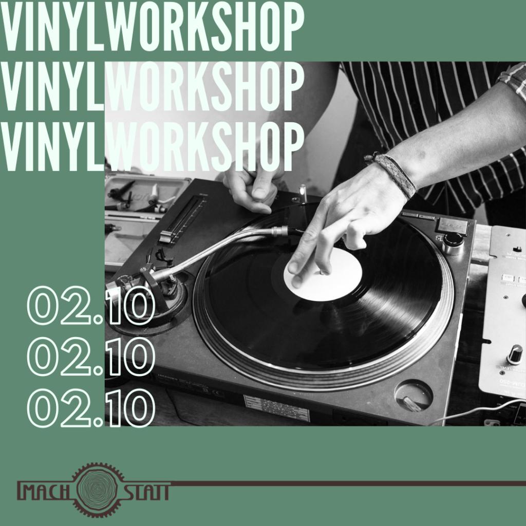 Vinyl Workshop in der Alten Münze