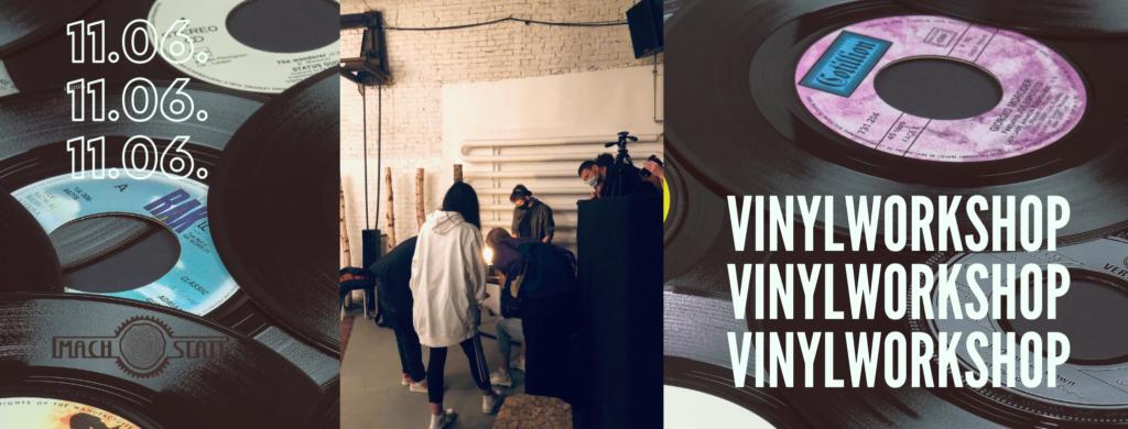 Vinylworkshop in der Alten Münze Berlin